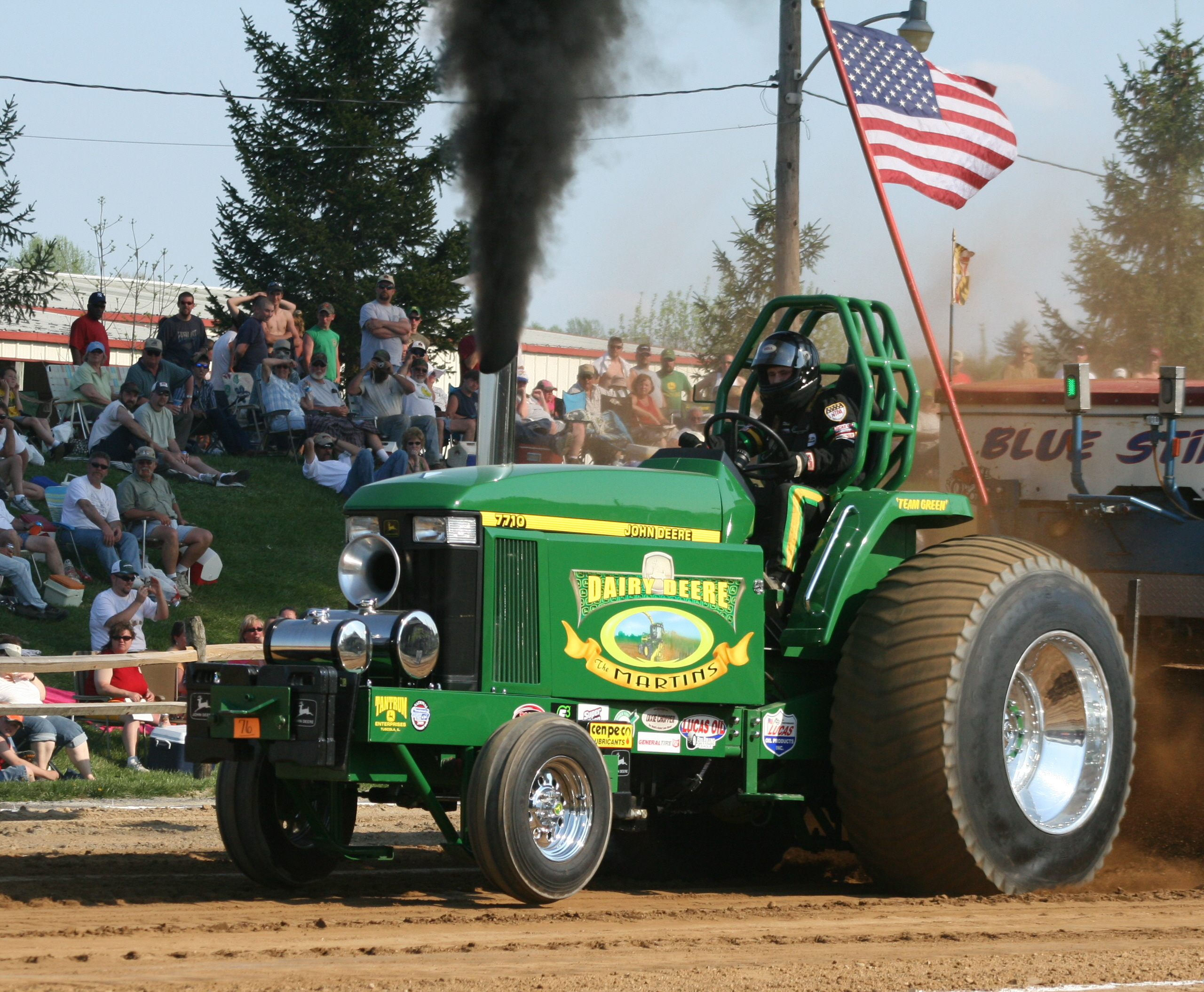 John Deere Super Stock Pulling Tractors : East coast pullers llc