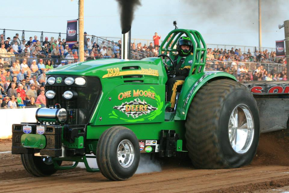 how to build a pro stock tractor